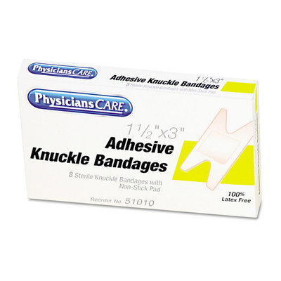 PhysiciansCare Adhesive Knuckle Bandages