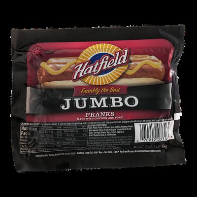 Hatfield Jumbo Franks - 8 CT