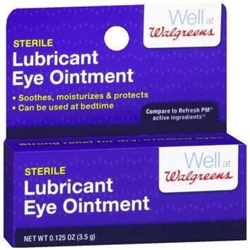 Walgreens Sterile Lubricant Eye Ointment
