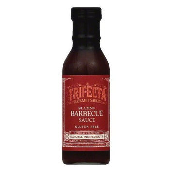 Trifecta Gourmet 13.5 oz. Sauce Bbq Blazing Case Of 6