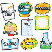 LEARNING RESOURCES Learning Resources Magnetic Subject Labels, 4