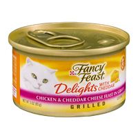 Fancy Feast Delights with Cheddar Gourmet Cat Food