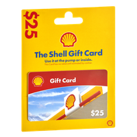 The Shell $25 Gift Card