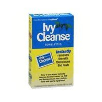 Hyland's Ivy Cleanse Towelettes - box of 12 - Instantly removes Poison Ivy Oils that cause the rash
