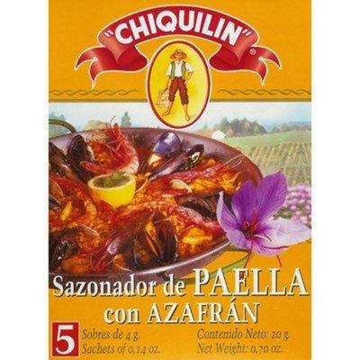 Hot Paella Paella Seasoning Sachets with Saffron