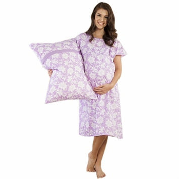 Baby Be Mine Helen Gownie Hospital Gown with Pillowcase, L/XL, 1 ea