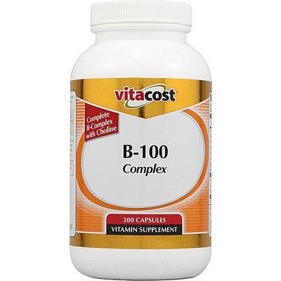 Vitacost Brand Vitacost B-100 Complex -- 200 Capsules
