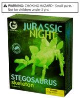Geo World CL139K Jurassic Night Stegosaurus Skeleton