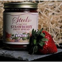 Steel's Gourmet Organic Agave Fruit Spread Strawberry -- 9 oz