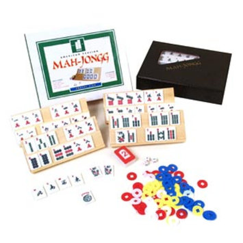 John N. Hansen Travel Mah Jong Tile Game Set, Ages 12+, 1 ea
