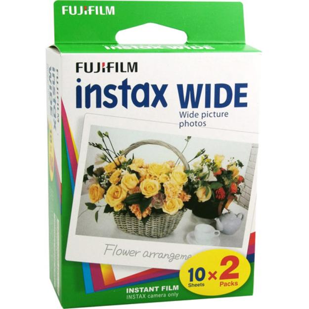 Fujifilm Instax Wide Twin Pack Film