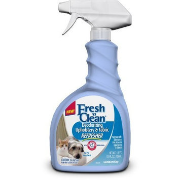 Lambert Kay Fresh 'N Clean Deodorizing Upholstery and Fabric Refreshener for Pets, 24-Ounce