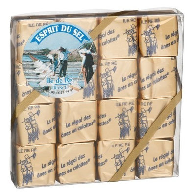 Esprit Du Sel Fleur De Sel Caramel with Honey, 16-Count Package (Pack of 2)