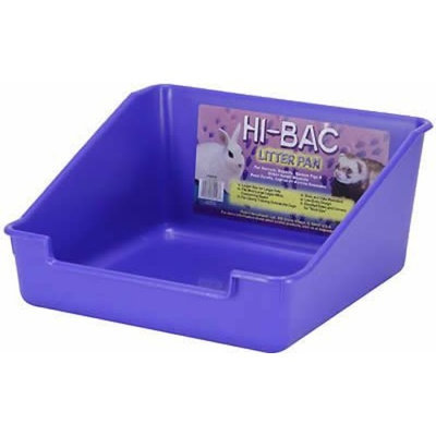 Super Pet Rabbit Hi-Bac Litter Pan, Colors Vary