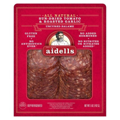Aidells Aidell's Sun Dried Tomato and Roasted Garlic Salame
