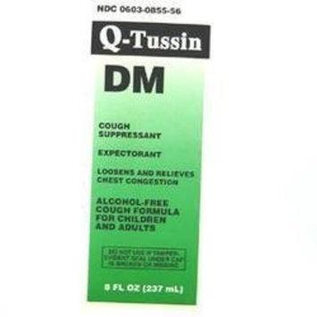 Robitussin Q-tussin DM liquid by Qualitest Pharmaceuticals - 8 oz