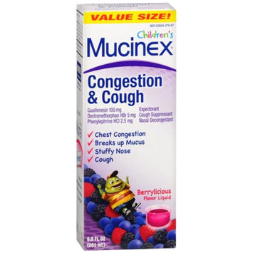 Mucinex Children's Congestion & Cough Liquid