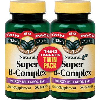 Spring Valley Natural Super B-Complex Tablets