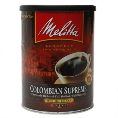 Melitta Colombian Supreme Blend Coffee, 11 oz