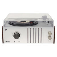 Crosley Player Turntable with USB Connection - Silver/Brown (CR6017B-
