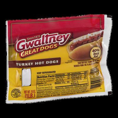 Gwaltney Great Dogs Turkey Hot Dogs