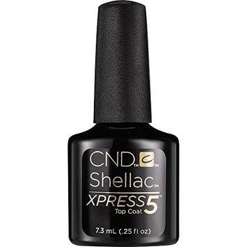 CND Cosmetics CND Shellac Xpress5 Top Coat, 0.25 Ounce