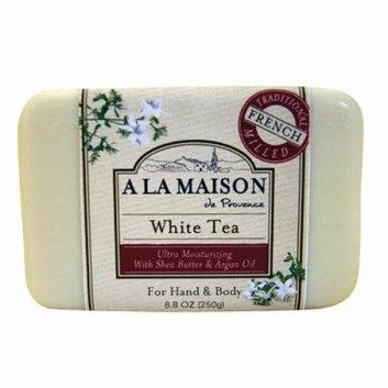 A La Maison Bar Soap White Tea 8.8 oz