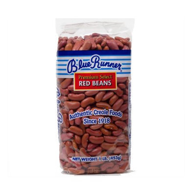 Blue Runner Dry Red Beans 1lb