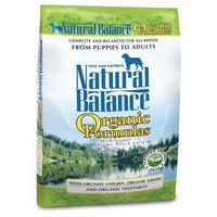 Natural Balance Organic Formula Dry Dog Food, 25-Pound Bag