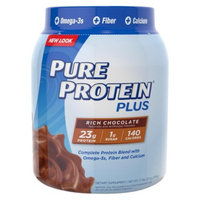 Pure Protein Plus Rich Chocolate Dietary Supplement Powder - 27 oz