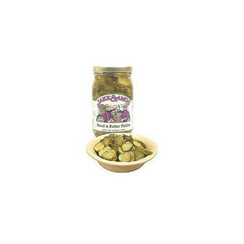 Jake & Amos Bread and Butter Pickle Chips (Case of 12)