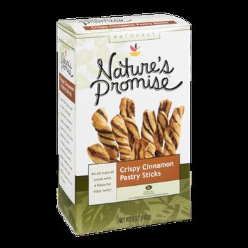 Nature's Promise Pastry Sticks Crispy Cinnamon