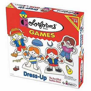 Colorforms Dress-Up Game Ages 3-8