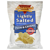 Michael's Michael Season's Natural Gourmet Potato Chips, Reduced Fat, Lightly Salted - 8 oz