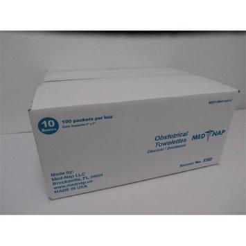 Med-Nap 10-3302 Obstetrical Antiseptic 1000 Towelette
