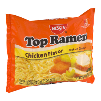 Nissin Top Ramen Noodle Soup Chicken Flavor