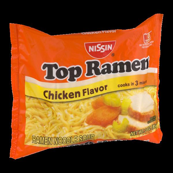 Nissin Top Ramen Noodle Soup Chicken Flavor