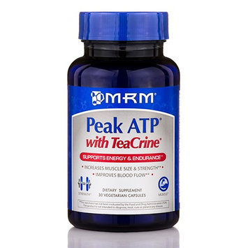 Mrm Metabolic Response Modifiers Peak ATP with TeaCrine MRM (Metabolic Response Modifiers) 30 VCaps