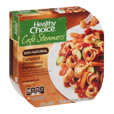Healthy Choice Cafe Steamers 100% Natural Tortellini Primavera Parmesan