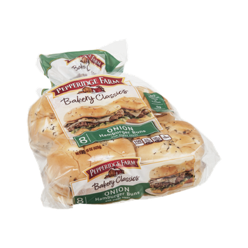 Pepperidge Farm Bakery Classics Onion Hamburger Buns - 8 CT