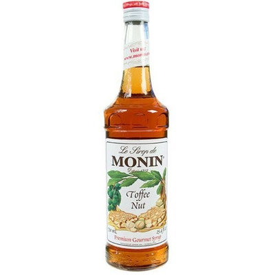Monin Toffee Nut Drink Syrup, 750mL (01-0034) Category: Drink Syrups