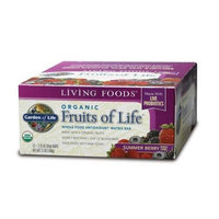 Fruits of Life Bars (box of 12 bars - 2.25 oz) by Garden of Life
