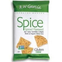 Rw Garcia R. W. Garcia Flax Flaxseed Tortilla Chips -- 7 oz