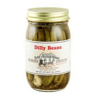 Byler's Relish House Homemade Amish Country Dilly Beans 16 oz.