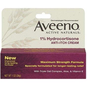 Aveeno Anti-Itch 1% Hydrocortisone Anti-Itch Cream
