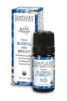 Blissful and Bright Simplers Botanicals 5 ml Liquid