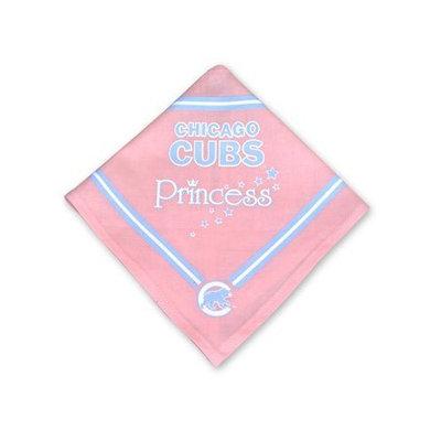 Sporty K9 Dog Bandana - Pink - Chicago Cubs