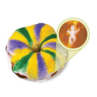 Luck's Lucks Dec-Ons King Cake Baby, 80 pk