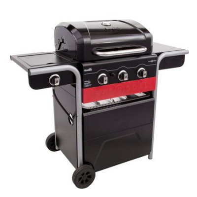 Char-Broil 420 3 Burner Gas and Charcoal Grill