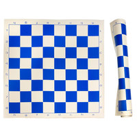 Sunnywood, Inc. Sterling Games Roll Up Chess Mat - Blue